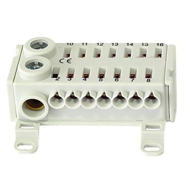 Eldon ECT142F Hurtigkobling 1 blokk, 14 x 4 mm², 2 x 25 mm²