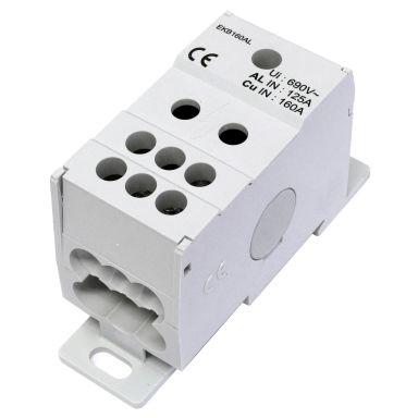 Eldon EKB160AL Distribusjonsblokk 1-polet, 160 A, 1x10-50 mm²