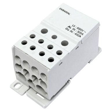 Eldon EKB400AL Distribusjonsblokk 1-polet, 400 A, 1x95-240 mm²