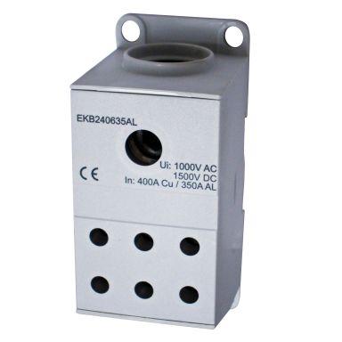 Eldon EKB240635AL Distribusjonsblokk 1-polet, 400 A, 6x6-35 mm²