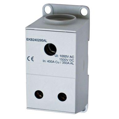 Eldon EKB240295AL Distribusjonsblokk 1-polet, 400 A, 2x35-95 mm²