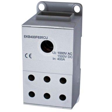 Eldon EKB400F635CU Distribusjonsblokk 1-polet, 400 A, 6x6-35 mm² Cu