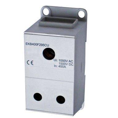 Eldon EKB400F295CU Distribusjonsblokk 1-polet, 400 A, 2x35-95 mm² Cu