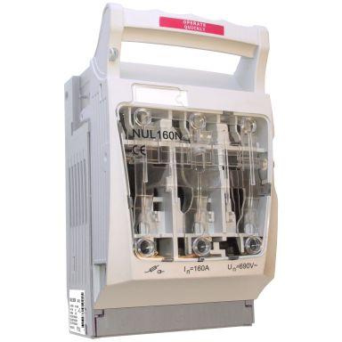 Eldon NUL160N Säkringsbrytare 3-polig, 690 V, 160 A, IP20