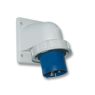 Garo IIV 316-6 S + HI Väggintag IP67, 4-polig, 16A