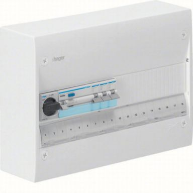 Hager GD118SF Centralapparat Typ: Gamma, IP30