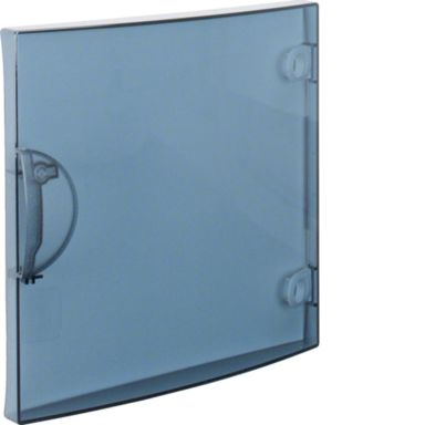 Hager GP118T Dörr transparent, 18 moduler