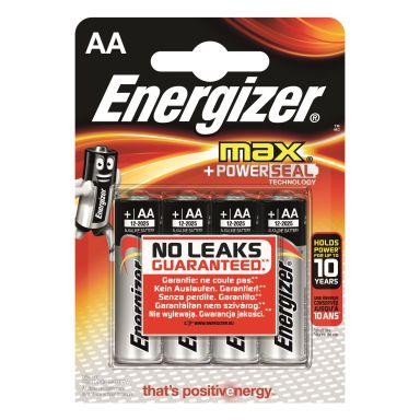Energizer 7638900341232 Batteri 1.5 V AA, 4-pack