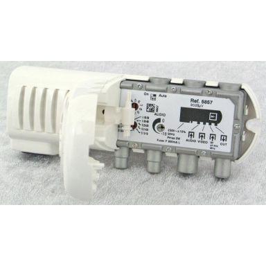 Televes 5858 Modulator 90 dB, IP20