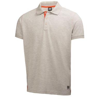 H/H Workwear Oxford Pikétröja grå