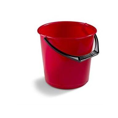Nordiska Plast Nordic Plasthink röd, 10 l
