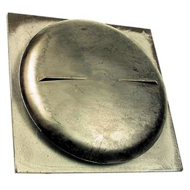 Habo 85 Tallriksventil fyrkant, aluminium