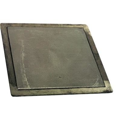 Habo 102 Klaffventil 175 x 175 mm, aluminium