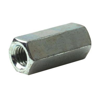Bufab M6HM061 Skarvmutter M6HM 4 M6x50x10, STÅL FZB, 200-pack