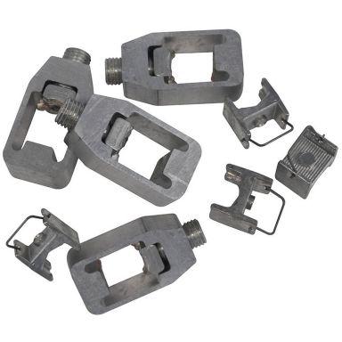 Eldon TC120-4 Koblingsklemme 35-120 mm², 20 mm skinnebredde, 4-pakning