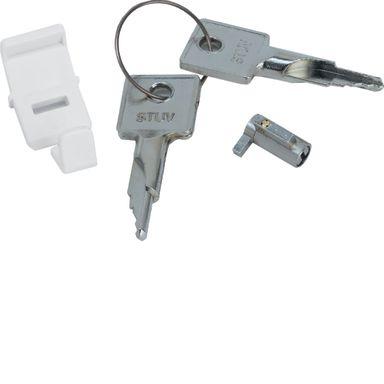 Hager VZ794N Lås for Golf, med nøkler