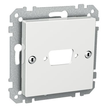 Schneider Electric WDE002443 Centrumplatta 70 x 9 x 70 mm, 1 koppling