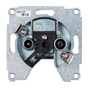 Schneider Electric Exxakt 606041144 Antennipistorasia pääterasialla