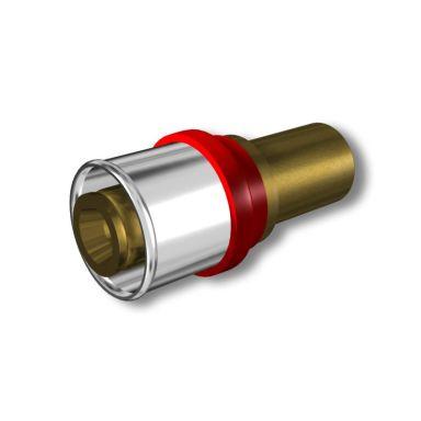 LK Systems 2417053 Presskoppling rak, 25 x 22 mm