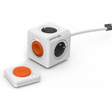 DesignNest PowerCube Extended Grenuttak 4 jordede uttak