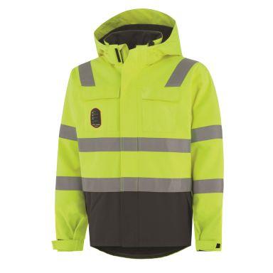 Helly Hansen Workwear Aberdeen Jacka gul/granitgrå