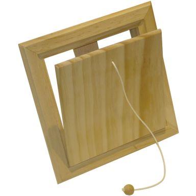 """Flexit 02025 Klaffventil trä, 6"""" x 6"""""""