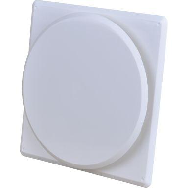 Flexit 02040 Tallriksventil vit, ram och karm