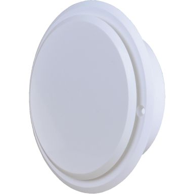 Flexit 02200 Tallriksventil vit, rund med karm