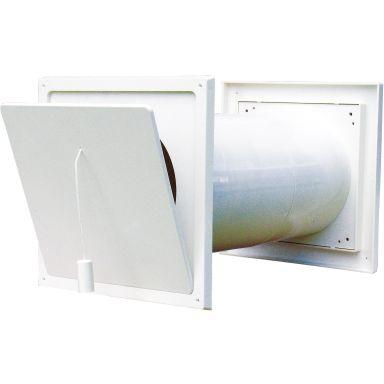 Flexit 09165 Friskluftsventil 125 mm, vit