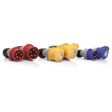 ABB 463P6 Stickpropp 380-415 V (50+60 Hz) röd