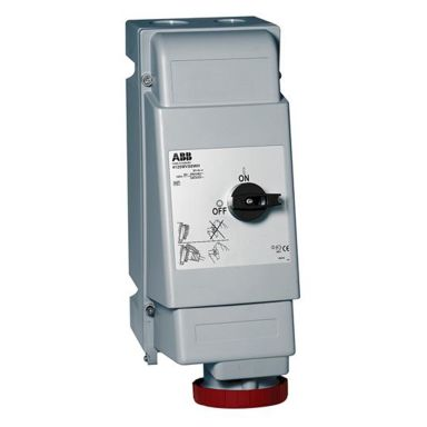 ABB 2CMA167654R1000 Vägguttag IP44, 3P+J, 16 A