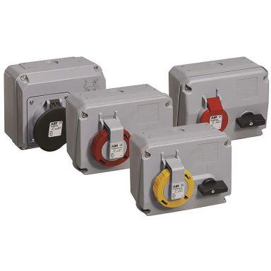 ABB 2CMA167865R1000 Vägguttag IP67, 4p+J, 400 V
