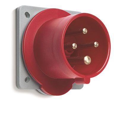 ABB 2CMA168109R1000 Väggintag IP67, 3-polig, 63 A