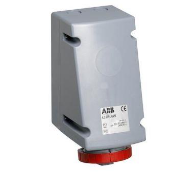 ABB 2CMA168498R1000 Vägguttag IP67, 4p+J, för vidarematning