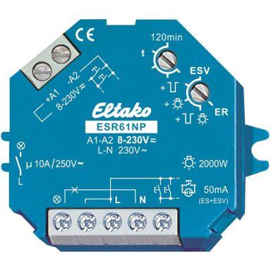 Eltako ESR61NP-UC Multirelé 10A, 8-230 V, 2000 W, 0-50 Hz