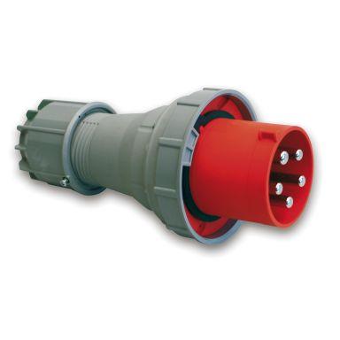 Garo PV 3125-6 S Stickpropp IP67, 4-polig, 125 A, röd