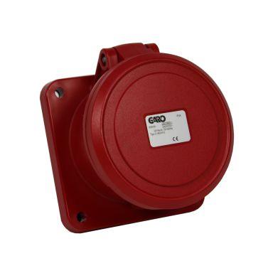 Garo UI 363-6 S Paneluttag IP44, 4-polig, 63A