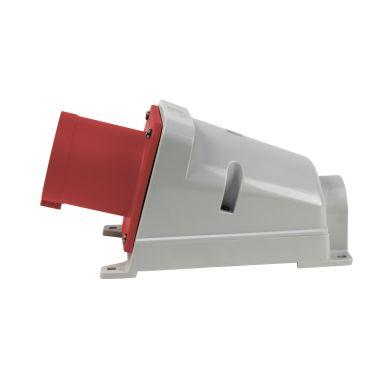 Garo II 363-6 S + RI Väggintag IP44, 4-polig, 63A