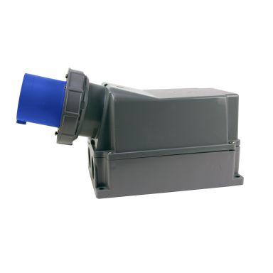 Garo IIV 2125-6 S + RI Väggintag IP67, 3-polig, 125A