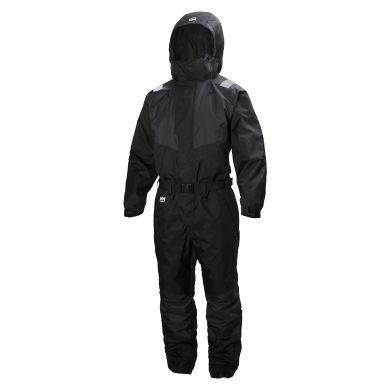 H/H Workwear Ebenholts Leknes Overall svart, med reflex