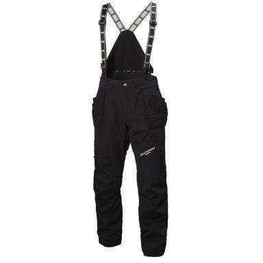 H/H Workwear Arctic Vinterbyxa med hängslen, svart