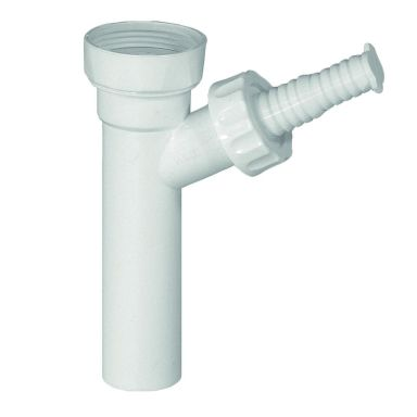 Geberit 8077137 Tvättmaskinsanslutning 32 mm, med slangnippel och övergång