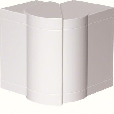 Hager BRP651703H9010 Ytterhjørne 85–95°, hvit