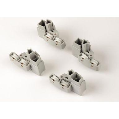 Ifö Z0638880 Hjulupphängningssats grå, metall/plast