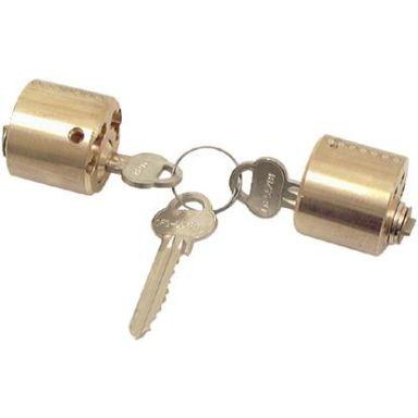 ASSA 712 Låsesylinder med 3 nøkler, dobbelt