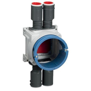 Schneider Electric IMT35008 Kytkentärasia seinän paksuudelle 26/39 mm, 4 yhdistelmänysää