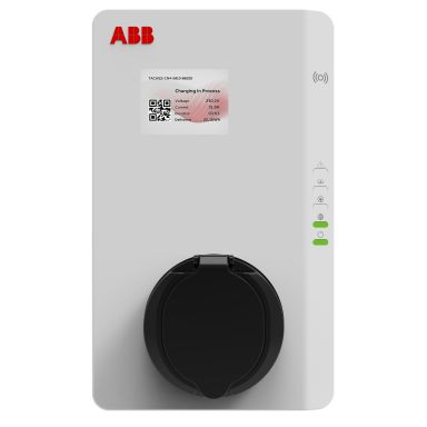 ABB 6AGC081281 Latausasema latauspistokkeella, 22 kW, RFID, 4G, MID