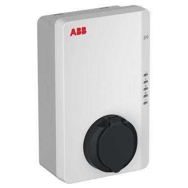 ABB 6AGC082153 Latausasema latauspistokkeella, 22 kW, RFID, 4G