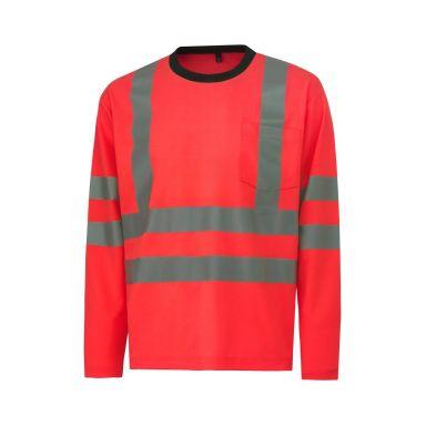 H/H Workwear Kenilworth T-shirt varsel, röd