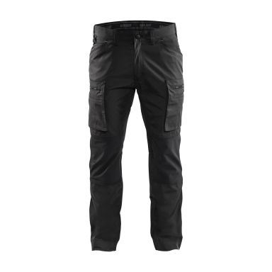 Blåkläder 145918459900D120 Servicebyxa med stretch, svart